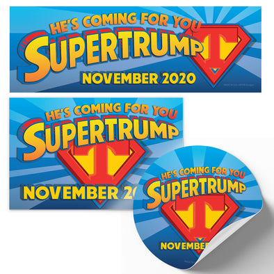 Supertrump Limited Edition Bumper Sticker