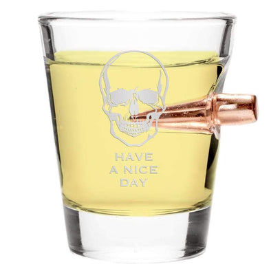 .308 Bullet Shot Glass – Have a Nice Day