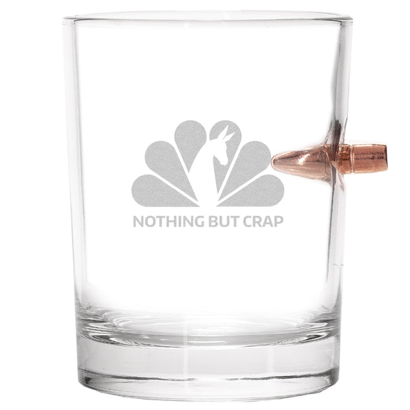 .308 Bullet Whiskey Glass - NBC - Nothing But Crap
