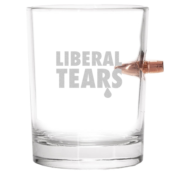 .308 Bullet Whiskey Glass - Liberal Tears