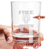.308 Bullet Whiskey Glass - Free Joe Exotic