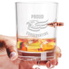 .308 Bullet Whiskey Glass - Proud Conservative