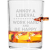 .308 Bullet Whiskey Glass - Annoy A Liberal