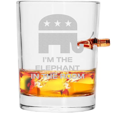 .308 Bullet Whiskey Glass - Elephant in the Room – Stack