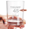 .308 Bullet Whiskey Glass - Trump 45