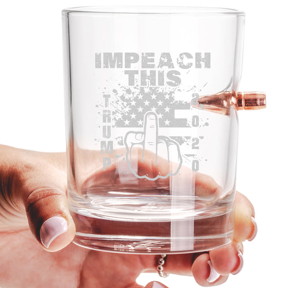 .308 Bullet Whiskey Glass - Impeach This
