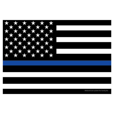 Thin Blue Line Flag 4x6 Rectangle Magnet