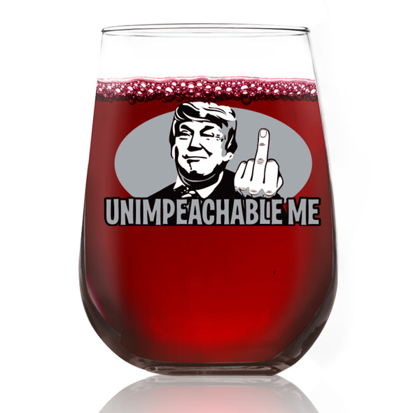 Wine Glass - Unimpeachable Me - Color