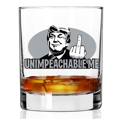 Whiskey Glass - Unimpeachable Me - Color