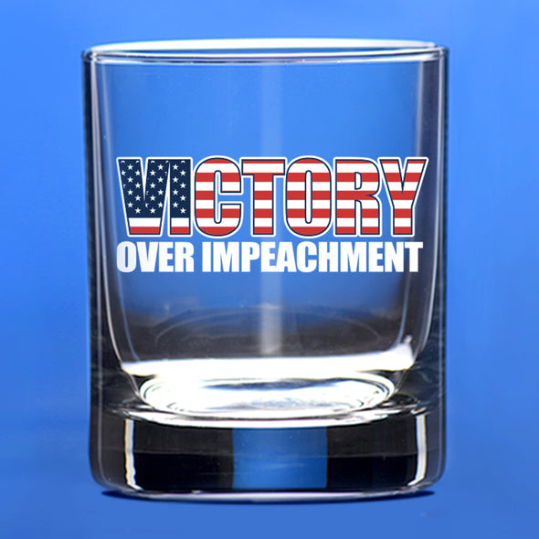 Whiskey Glass - Victory over Impeachment - Color
