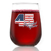 Wine Glass - 45 Acquitted Again - Color