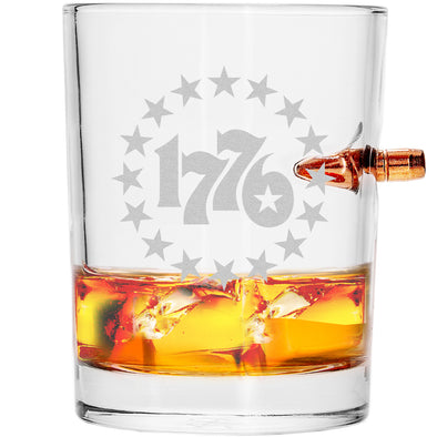 .308 Bullet Whiskey Glass - 1776