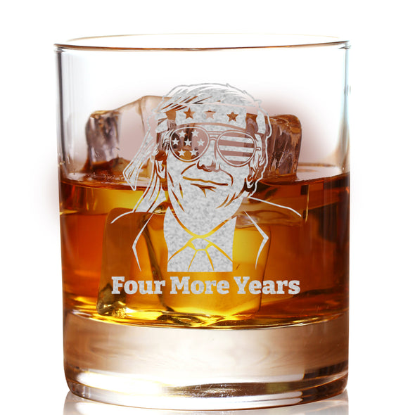 Whiskey Glass - TRUMP Sunglasses Four More Years