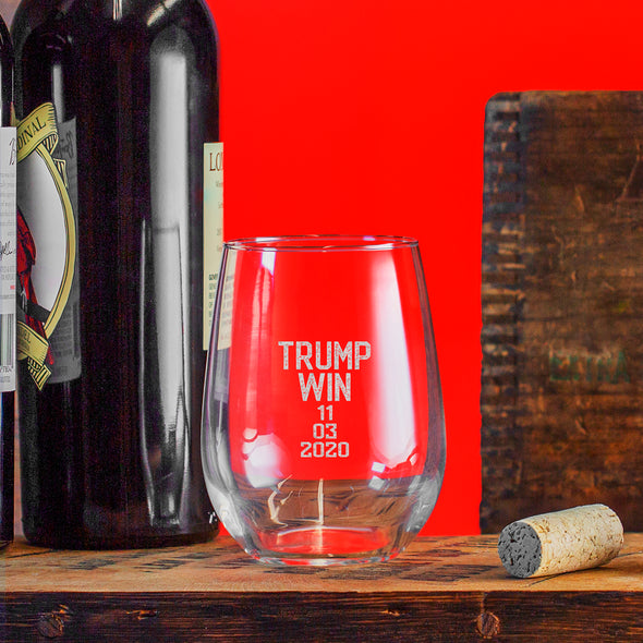 Wine Glass - Trump Win 11-03-2020