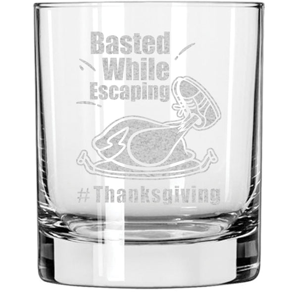 Whiskey Glass - Basted While Escaping