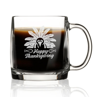 Happy Thanksgiving Turkey - Nordic Mug