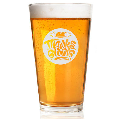 Pint Glass - Thanksgiving Circle