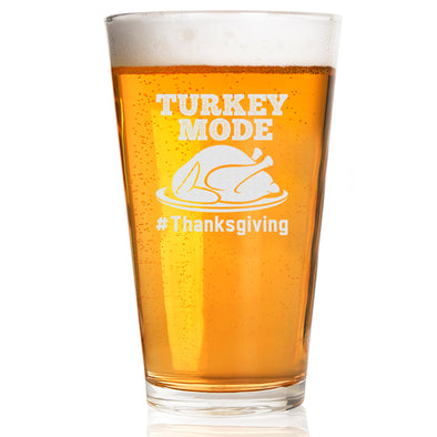Pint Glass - Turkey Mode