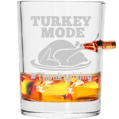 .308 Bullet Whiskey Glass - Turkey Mode