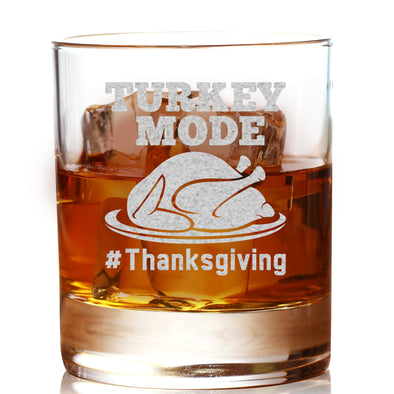 Whiskey Glass - Turkey Mode
