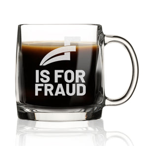 F for Fraud - Nordic Mug