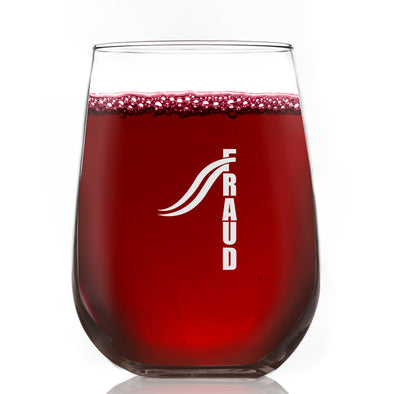 FRAUD Design 2 - Wine Glass