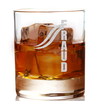FRAUD Design 2 - Whiskey Glass
