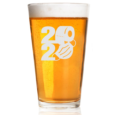 2020 TP Mask Shape - Pint Glass