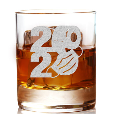 2020 TP Mask Shape - Whiskey Glass