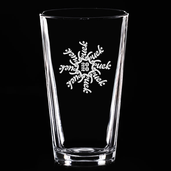 F Flake 2020 - Pint Glass