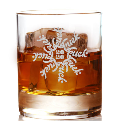 F Flake 2020 - Whiskey Glass