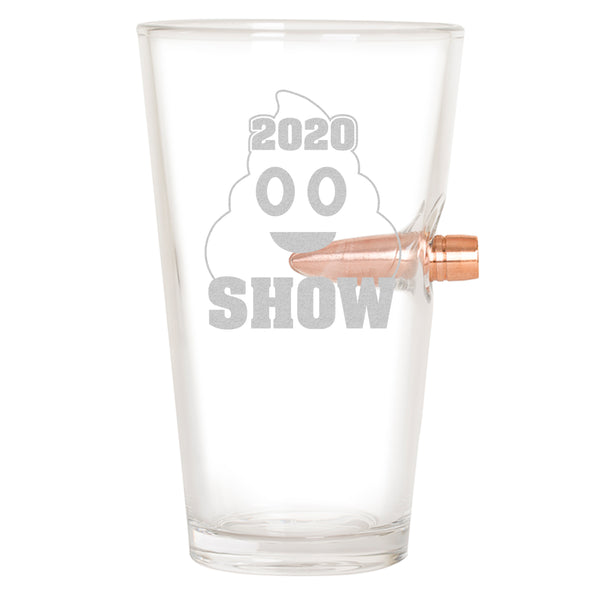 .50 Cal Bullet Pint Glass - 2020 **** Show