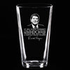 Ronald Reagan Under God Quote - Pint Glass
