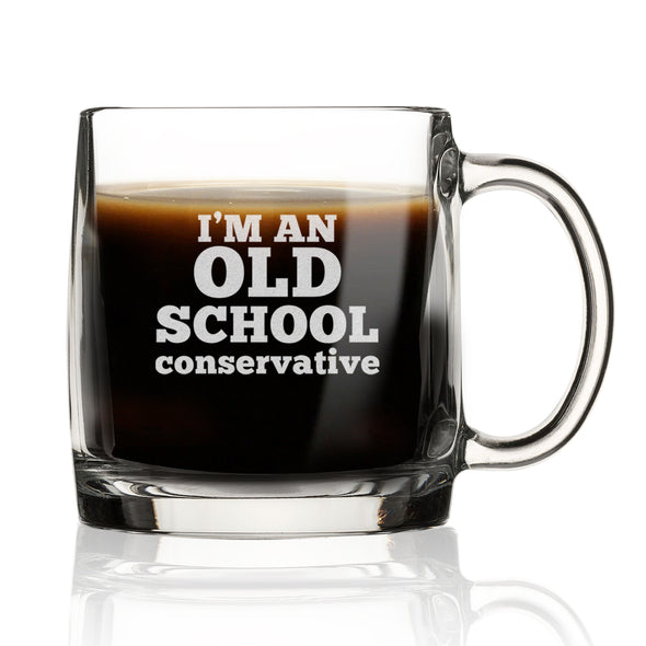 I'm An Old School Conservative - Nordic Mug