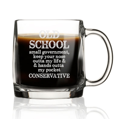 Old School, Small Government Conservative - Nordic Mug