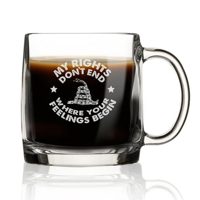 Nordic Mug - My Rights Don't End Where Your Feelings Begin