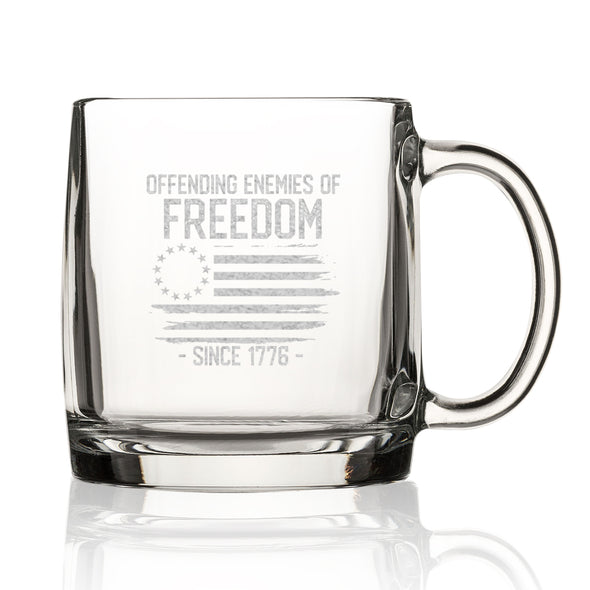 Nordic Mug - Offending Enemies of Freedom Since 1776