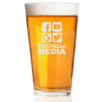 Pint Glass - Socialist Media