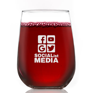 Wine Glass - Socialist Media