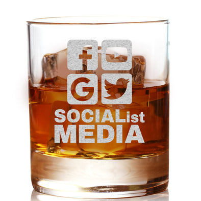 Whiskey Glass - Socialist Media