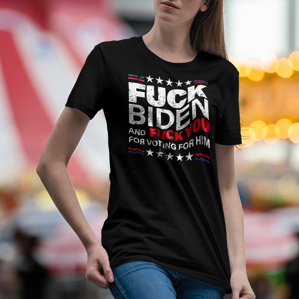 F Biden and F You T-Shirt