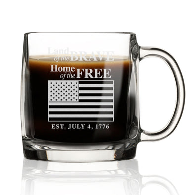 Land of the Brave, Home of the Free - Nordic Mug