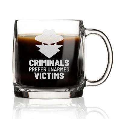Nordic Mug - Criminals Prefer Unarmed Victims