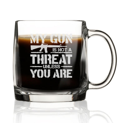 My Gun is Not a Threat Unless You Are - Nordic Mug