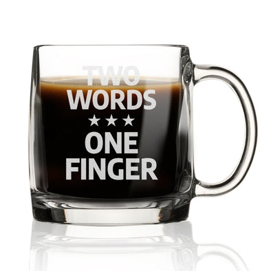 Nordic Mug - Two Words One Finger