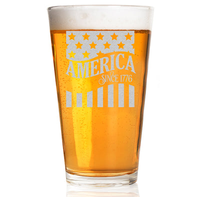 Pint Glass - America Since 1776