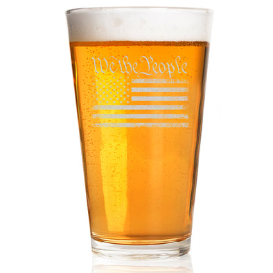 Pint Glass - We The People