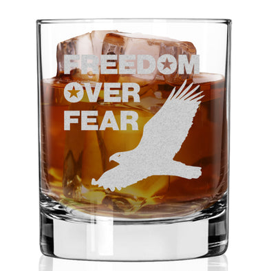Whiskey Glass - Freedom over Fear – Eagle
