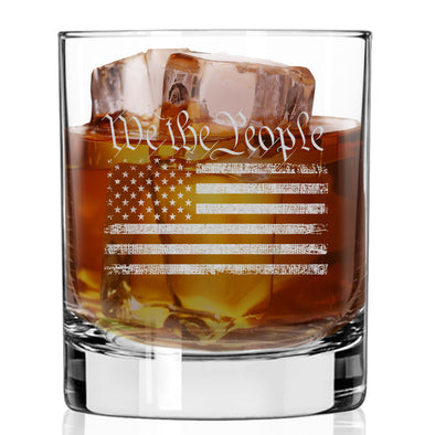Whiskey Glass - We The People