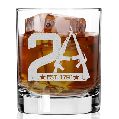 Whiskey Glass - 2A Est 1791